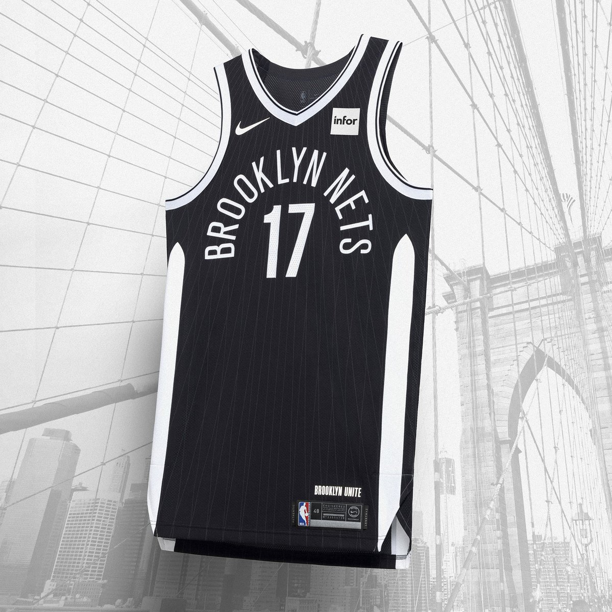 e4faeae9b Brooklyn Nets unveil new borough inspired uniforms