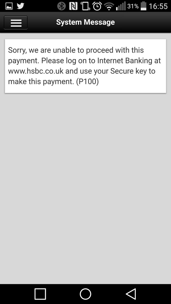 hsbc activate replacement secure key