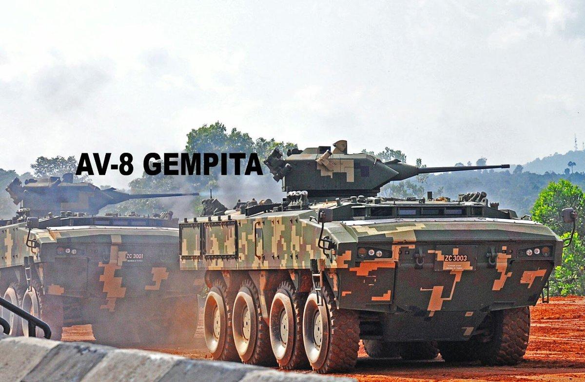 المغرب يتفاوض على شراء ناقلات جند مدرعه نوع AV 8 Gempita الماليزيه  DSEcV_fXkAAnyXD
