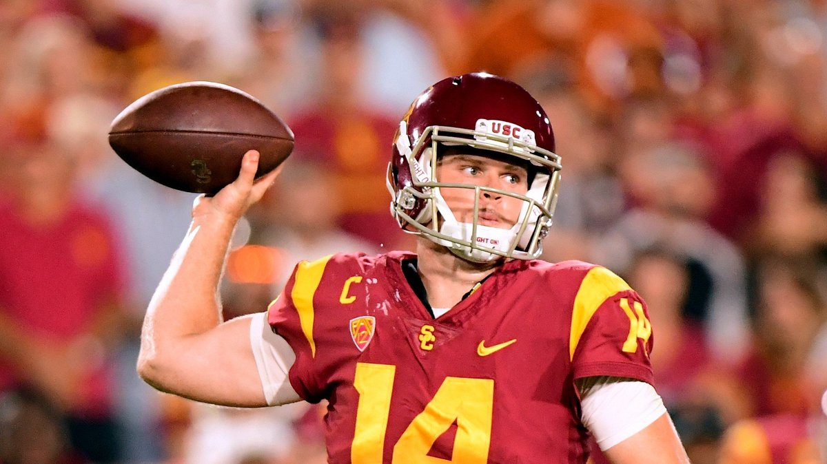 USC QB Sam Darnold says he wouldn t shy away from playing for Cleveland  Browns http   on.wkyc.com 2CenfPN pic.twitter.com eHoaIKzK0P f8ce41c8d