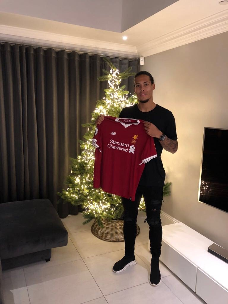 Liverpool Football Club can confirm they have reached an agreement with Southampton for the transfer of Virgil van Dijk.  Full story:  https://t.co/tJy9vsGOen