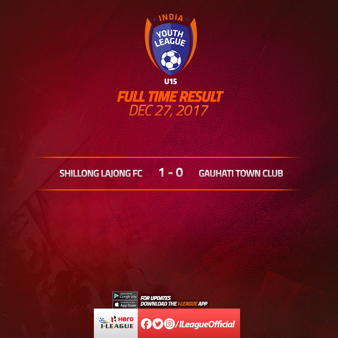 Hero I League On Twitter U15 Youth League Shillong Lajong Fc