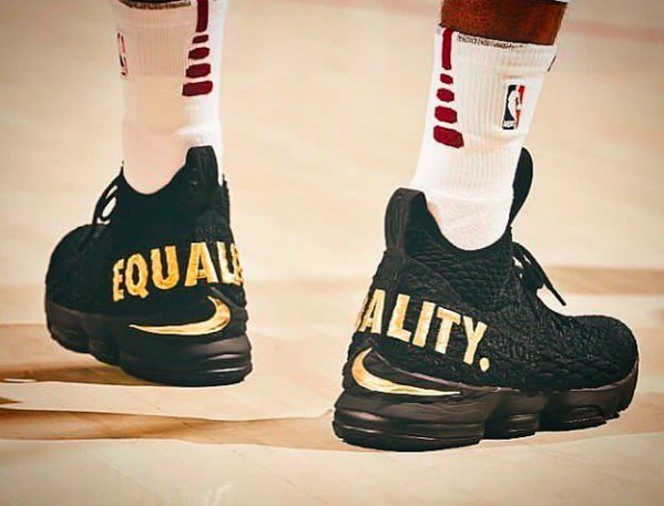 more photos daf98 bfb2a Nike LeBron sock shoe trend XV debuted Ronnie Fieg Kith ...