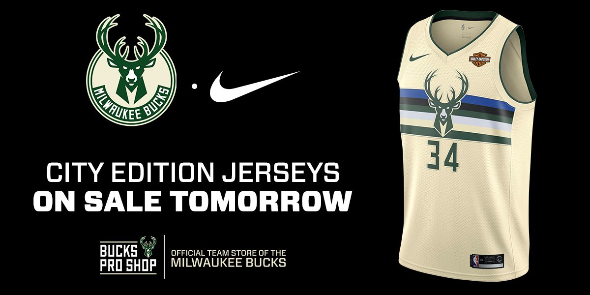 new product c8bf8 a5917 Milwaukee Bucks on Twitter: