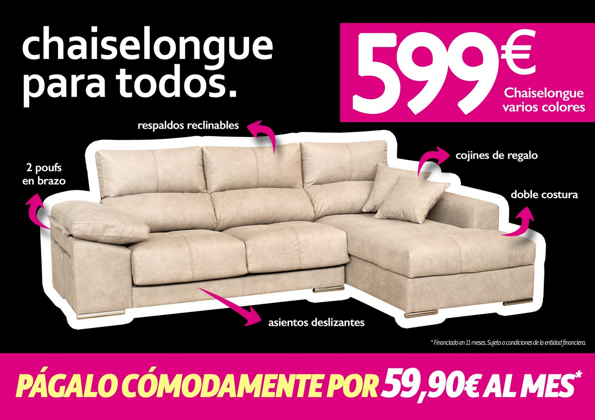 Chaiselongue Twitter Search # Muebles Requinables