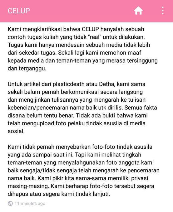 Klarifikasi Celup