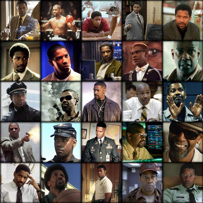 Happy 63rd birthday to one of the greatest actors of all time, the legendary Denzel Washington.