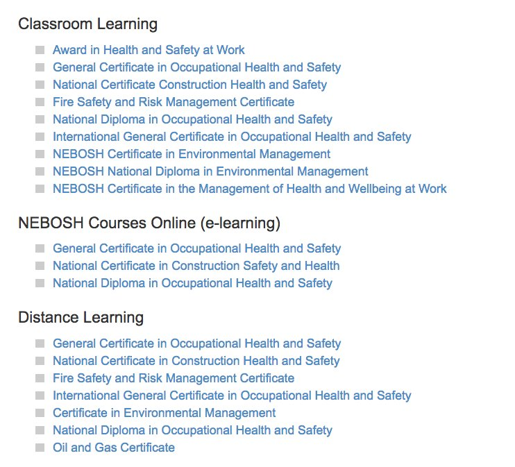 NEBOSH Professional Organisations Know That You Have Received Training In Health And Safety At The Highest Standard