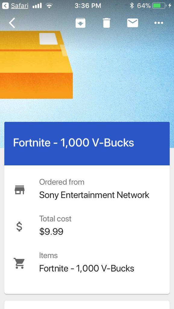 Fortnite V Bucks Purchase Pending