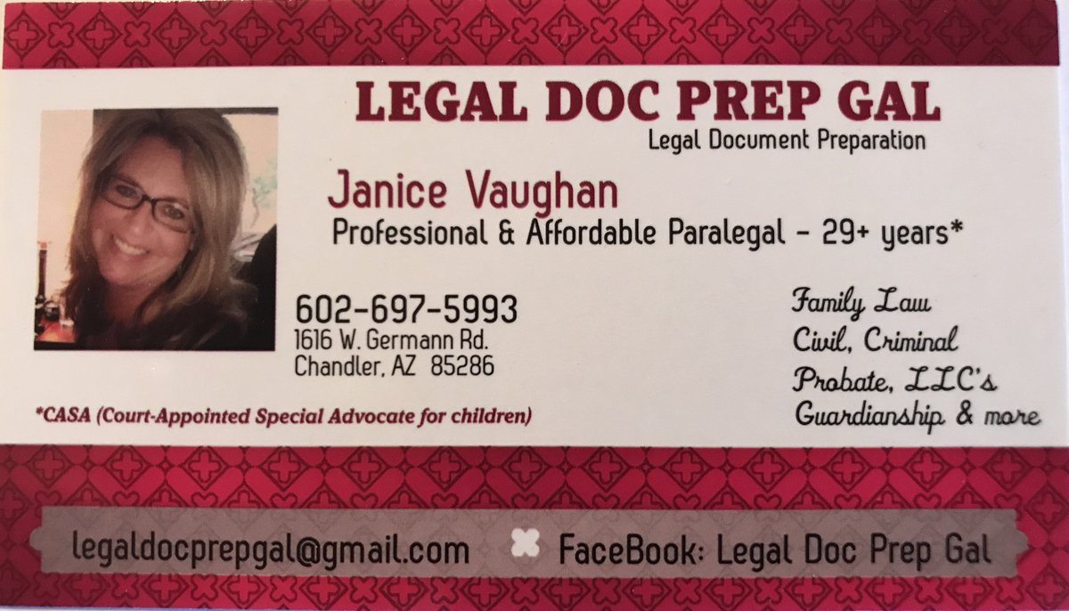 Janice Vaughan On Twitter PARALEGAL SERVICESLEGAL DOCUMENT - Legal document preparation services