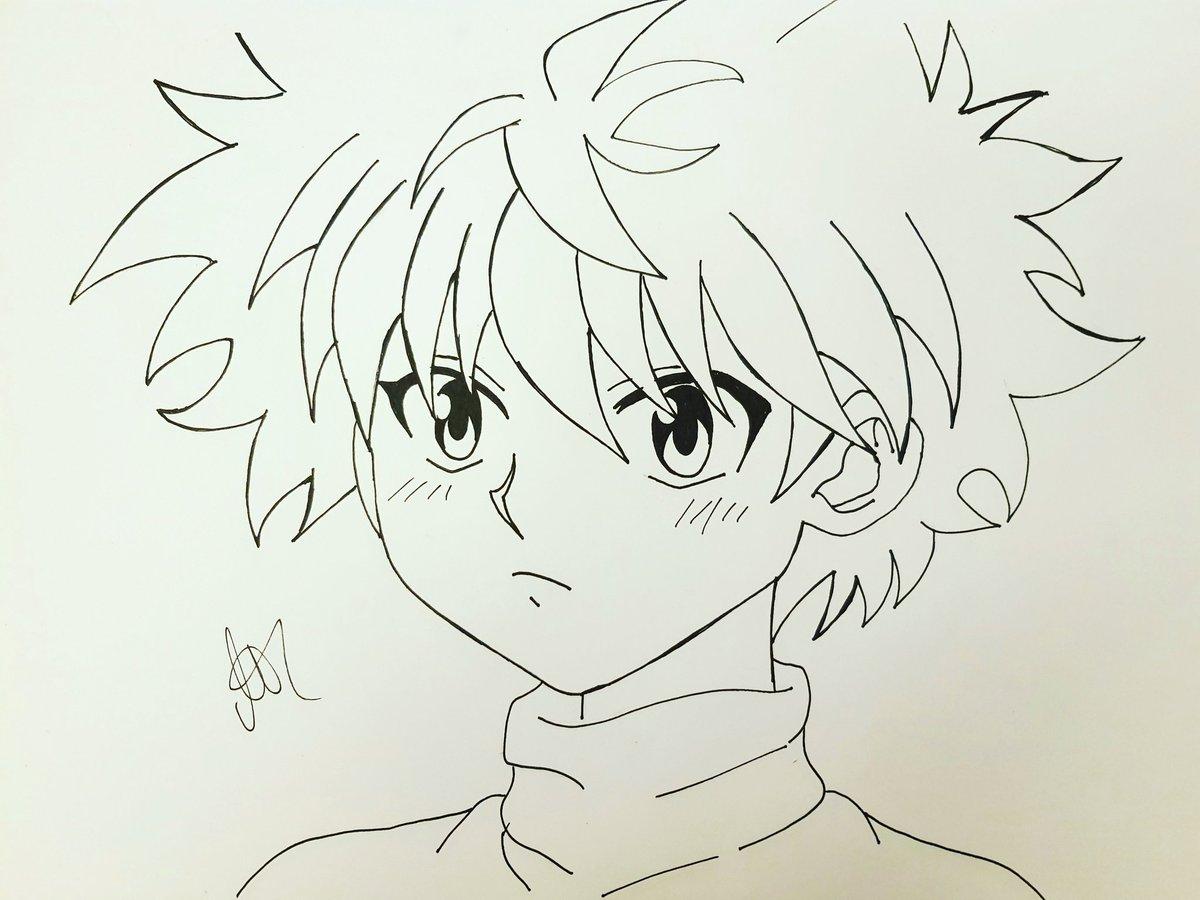 Yumichan48 On Twitter Killua Zoldyck Anime Hunterxhunter