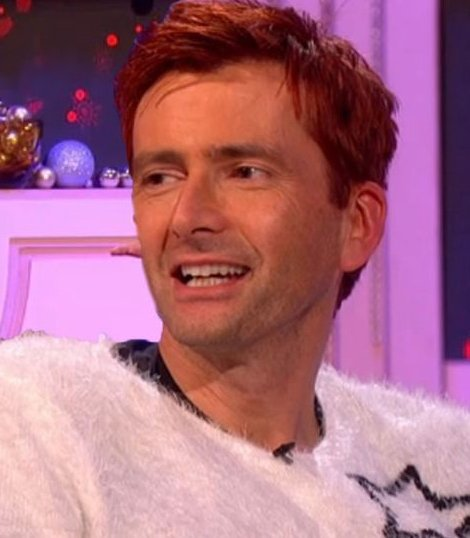 David Tennant on Miranda Does Christmas