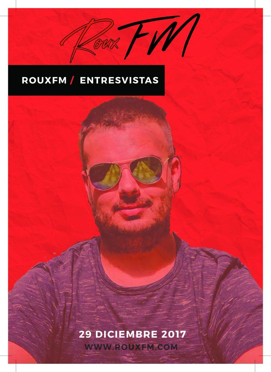 📻 RouxFM - Entrevistas! 🎙️ 📅 Hoy! 29 de Diciembre 2017 programa especial de @omarcaride de 22 a 23 h . ➡️ Entrevista a Jaime @djshowjames en el programa de DJ Beat 🎧 📍 https://t.co/kveYrJdWwd