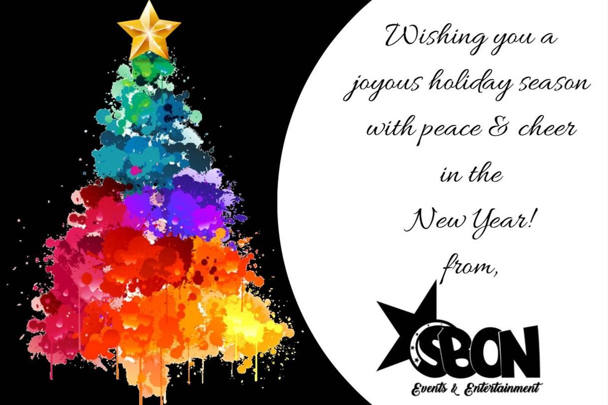 Sbon Events On Twitter Season Greetings From Us To You Happy