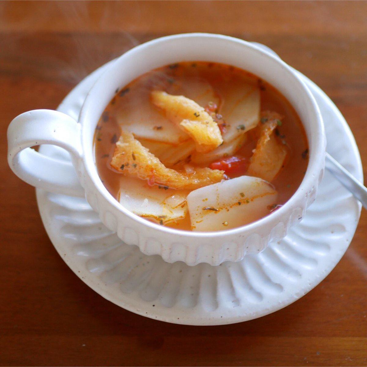干し ダラ の スープ