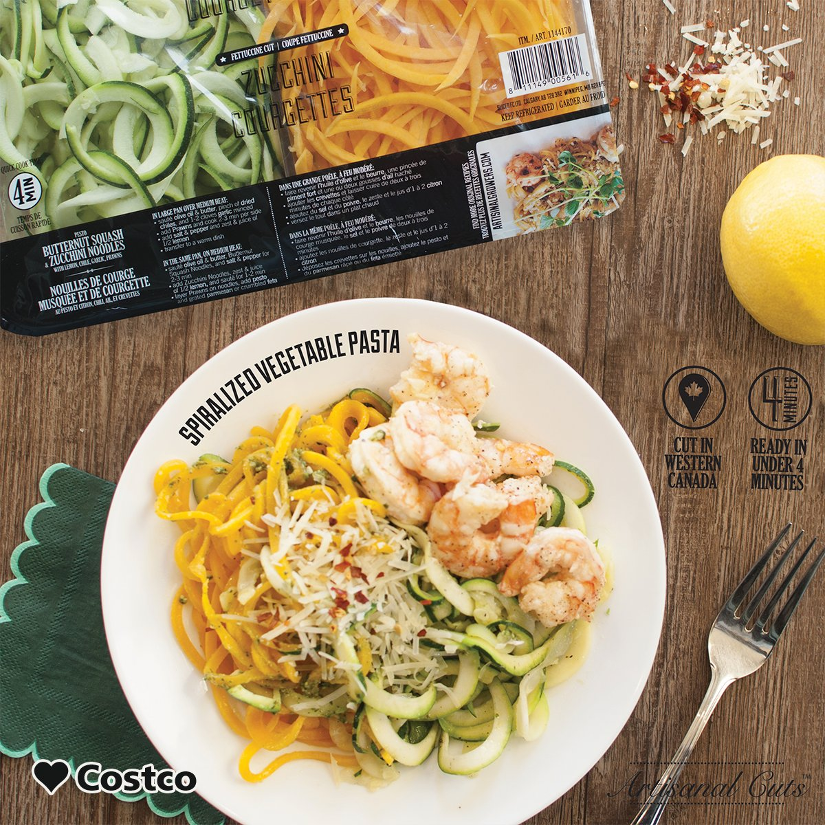 Costco Canada On Twitter Zucchini And Sweet Potato Noodles A