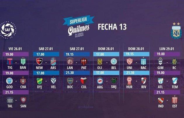 Fútbol Argentino | La Superliga se reanudará el viernes 26 de enero
