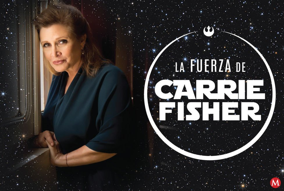 Fuerza Carrie Fisher Fotogaler ía Fuerza Carrie Fisher