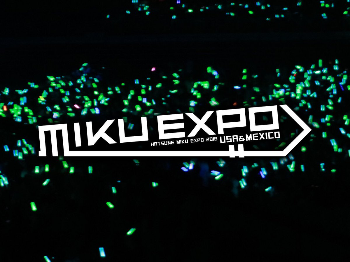 MIKU EXPO 2019 on Twitter: