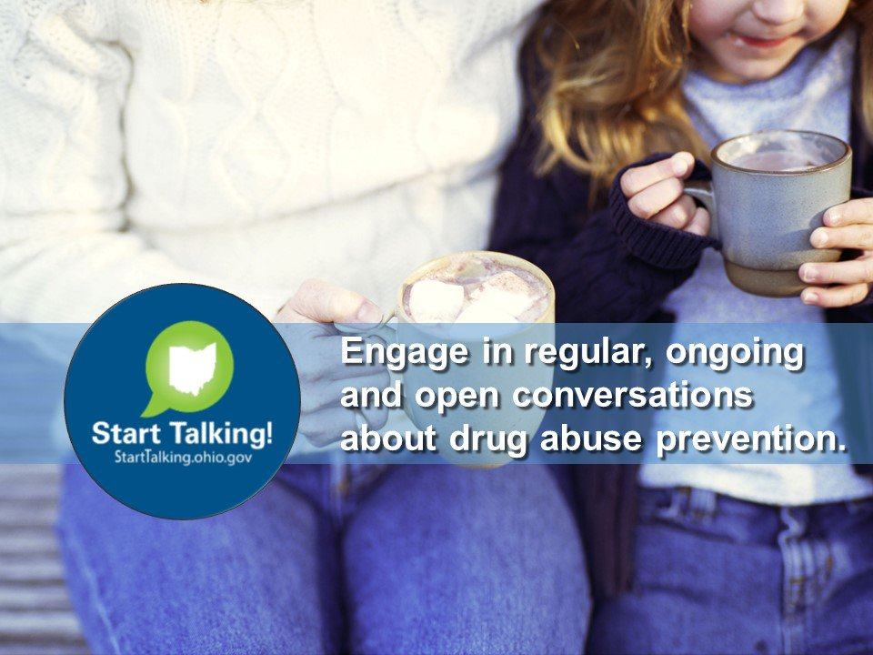 Starting The Conversation About Drug Use Positive Choices >> Start Talking On Twitter Drug Abuse Prevention Conversations Can