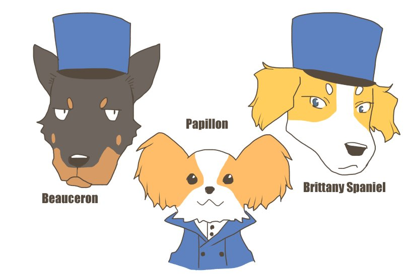 BC自由学園の犬たち #ガルパン最終章 #犬化