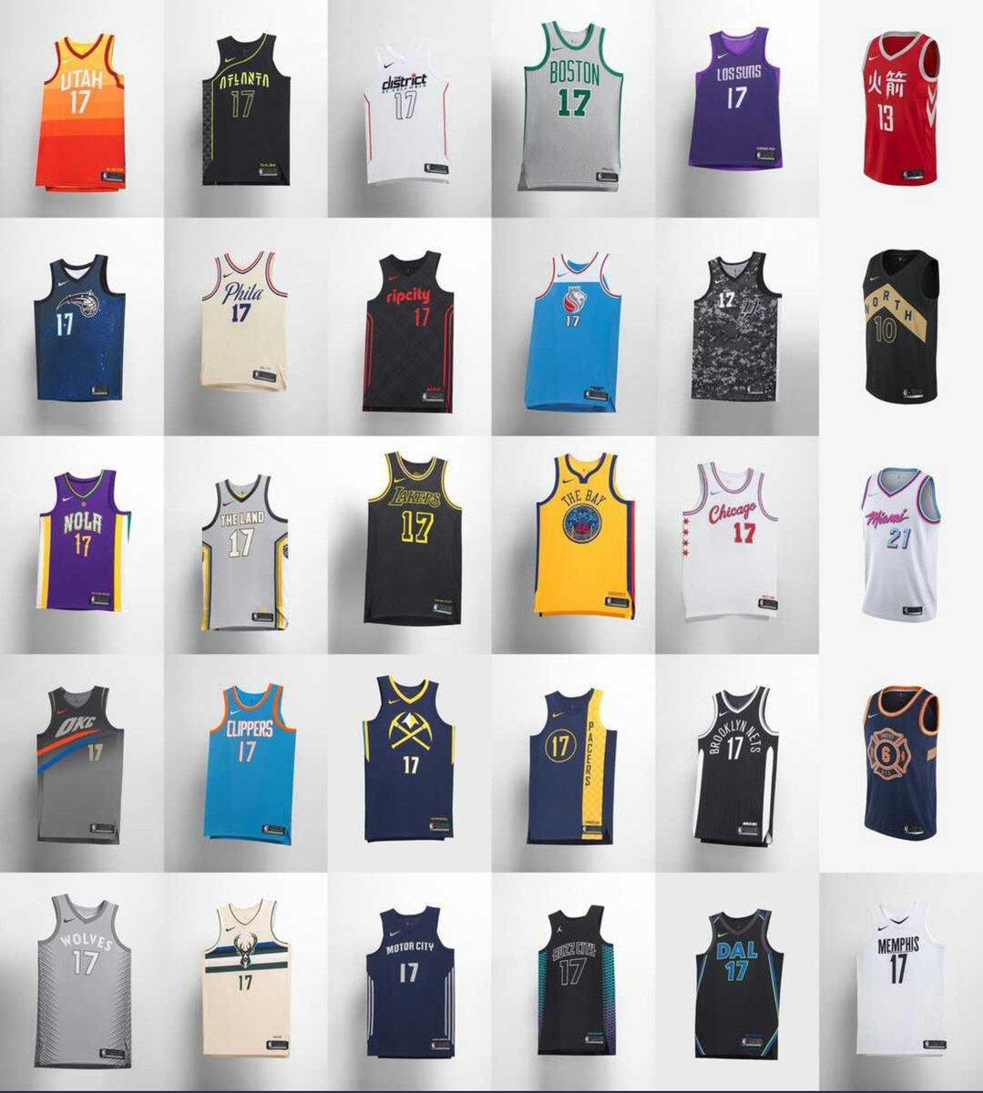 Insatisfactorio Por Ofensa  camisetas nba city edition - Tienda Online de Zapatos, Ropa y Complementos  de marca