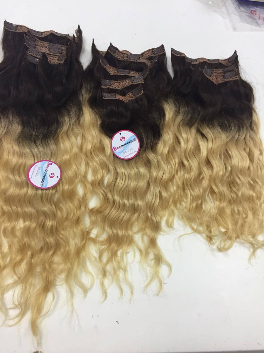 Beequeenhair Ashley On Twitter Ombre Wave Clip In Extensions