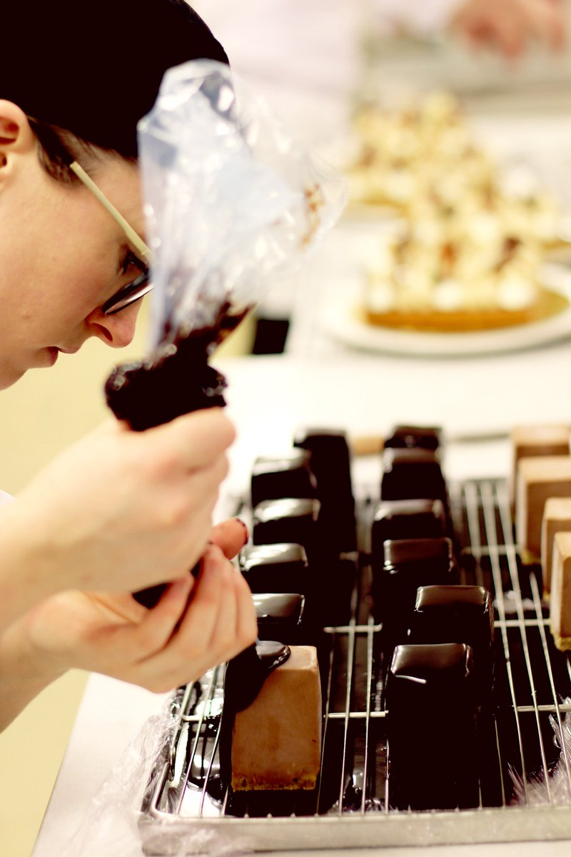 Bewley S Ireland On Twitter Pastry Sous Chef Clare Glazes Our Famous Mary Cakes Made Fresh Each Day In Café Bakery Backinbewleys Dublin