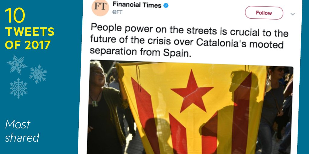 This insight into protests over the arrest of Catalonia's pro-independence leaders was one of our most retweeted articles in 2017 https://t.co/SngKgSgW1J