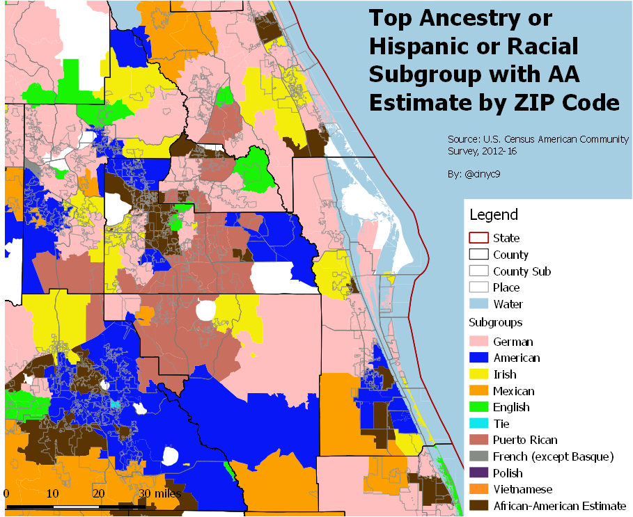Cinyc On Twitter The Greater Orlando By Zip Code Map