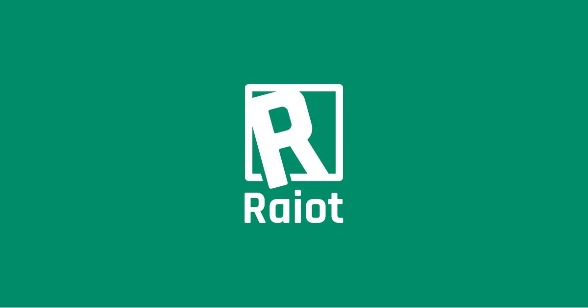 Raiotのロゴができました!