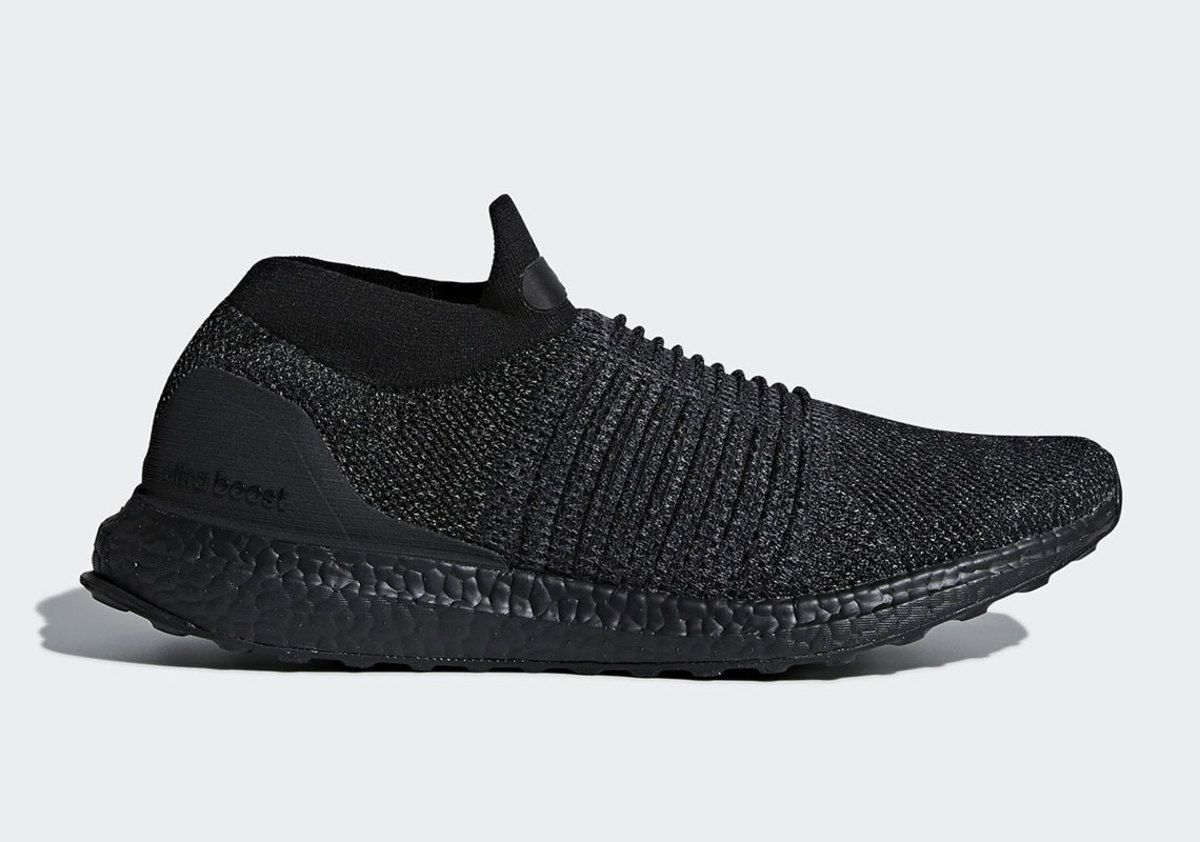 sale retailer d3832 8f352 adidas is dropping the ultraboost laceless in a triple black colorway