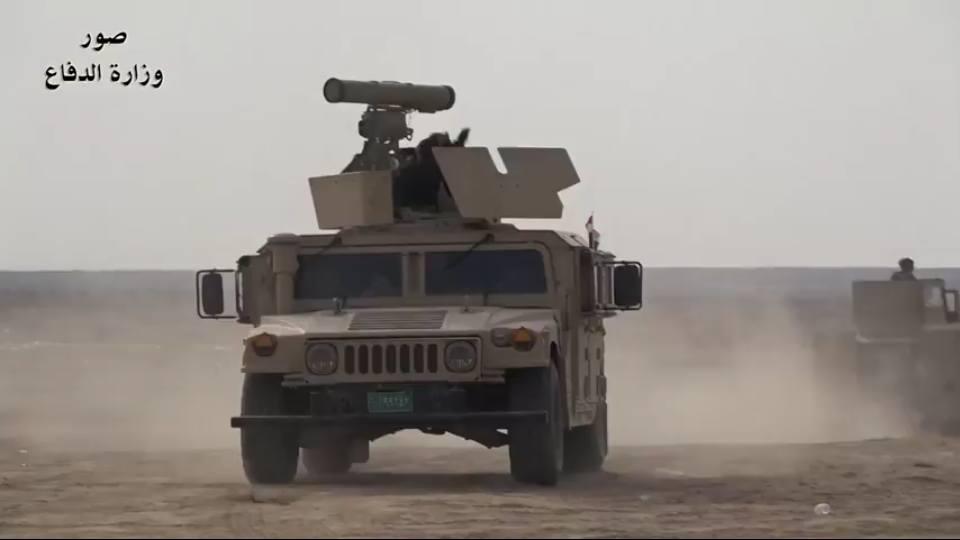 Conjunto híbrido: Veículo dos EUA, mas com arma da Rússia