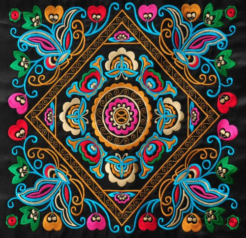 Womensart On Twitter Miao Hmong Embroidery Designs Deriving From