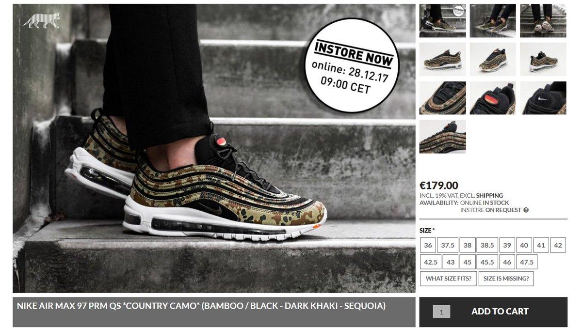 Nike Air Max 97 – jetzt online kaufen bei asphaltgold!