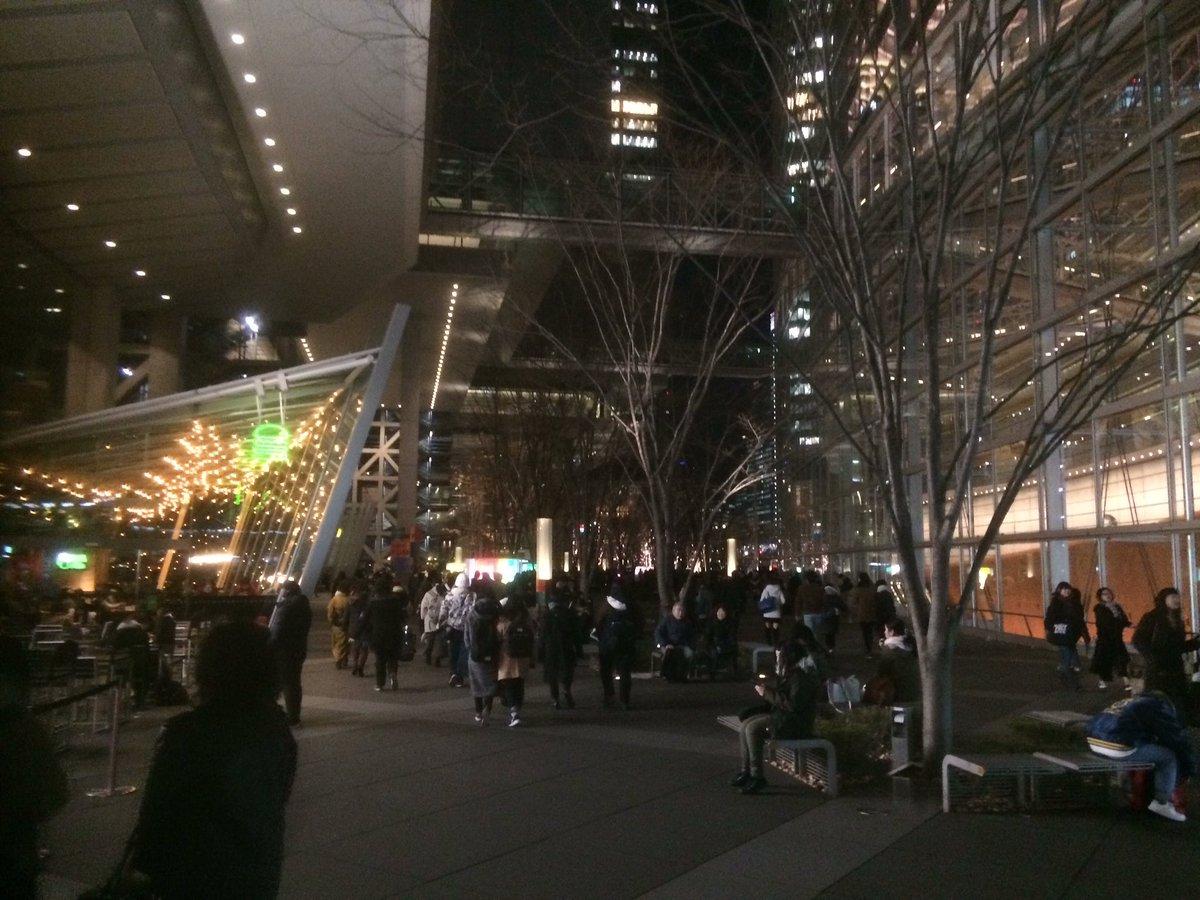 本日のM.S.S.Pさんのライブに遊びに来たのだ。最終公演だからみんな盛り上がるのだ。グッズも買うのだ #PEF東京