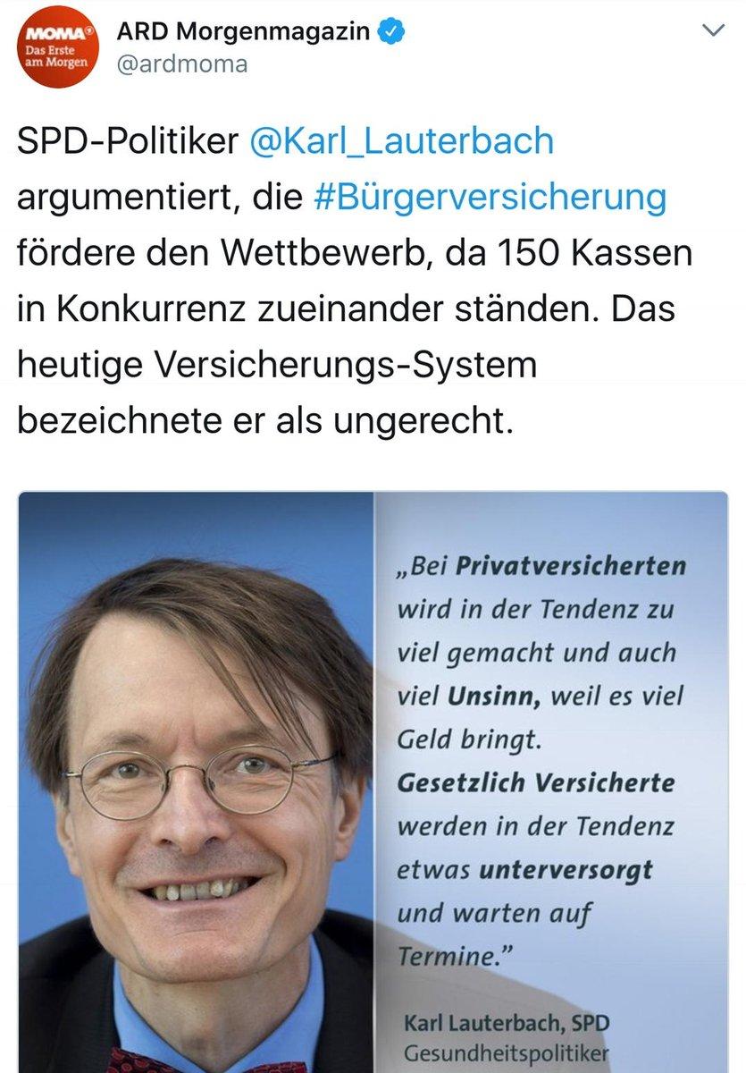 Karl Lauterbach A Twitteren Burgerversicherung Mehr Wettbewerb Und Bessere Verteilung D Arzte Keine Einheitskasse Wie England Oder Ddr