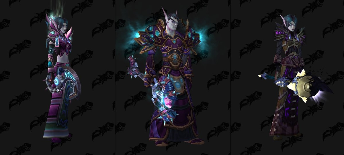 Wowhead On Twitter Void Elf Allied Race Transmog Suggestions Https