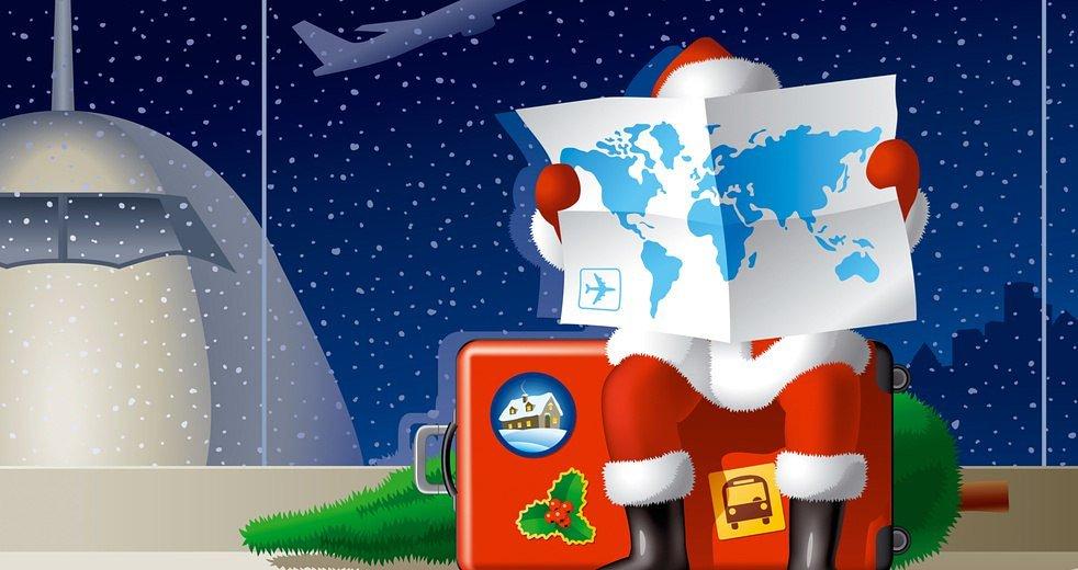 Географические открытки с новым годом, анимашки днем рождения