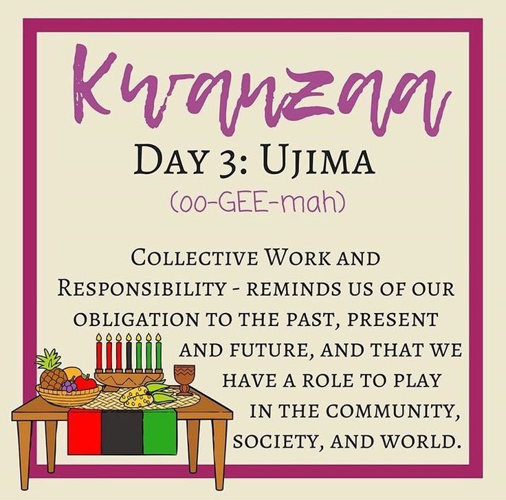 Image result for day 3 of kwanzaa
