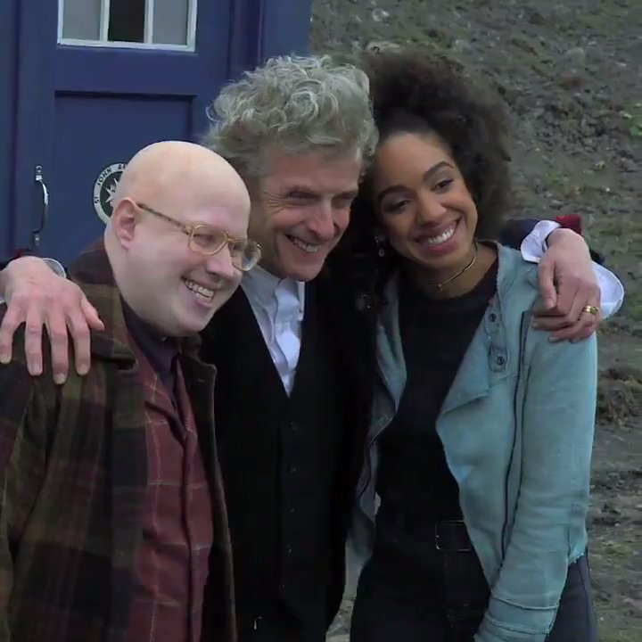 RT @bbcdoctorwho: .@RealMattLucas reveals how he felt about his return to #DoctorWho for Twice Upon a Time… https://t.co/Htsq36VD9c