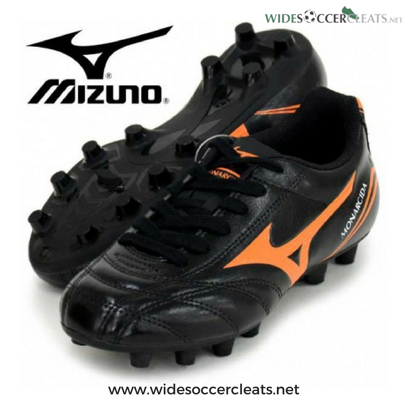 24f0687ac379 Bringing you the Mizuno Monarcida series - this time for  kids with wide  feet! http   bit.ly 2lf7UX2  Mizuno  MizunoMonarcidaFSJr  Soccer   SoccerCleats ...