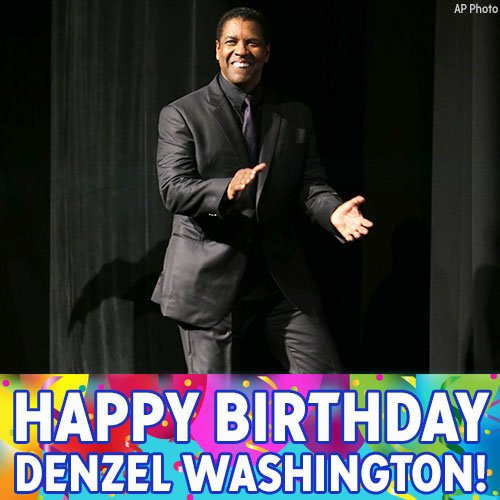 Happy birthday to Oscar-winning actor Denzel Washington! The Training Day and Glory star turns 63 today