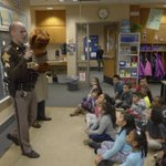Before Winter Break, Sgt. McGaha and McGruff visited with North Wayne Elementary second graders to discuss safety tips. As the end of 2017 draws near, we want to thank all the community helpers that visit our schools to teach our students about safety.