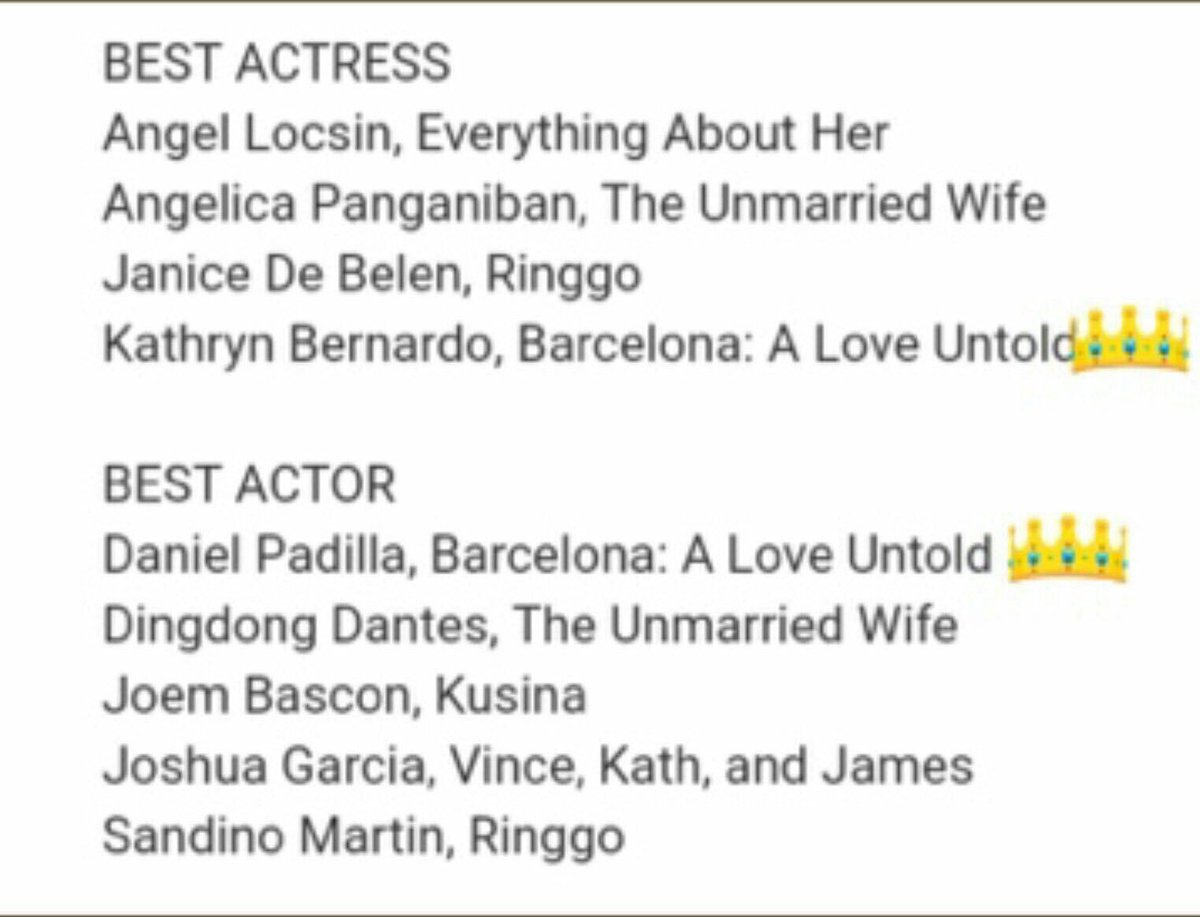 Kathniel Kadreamers V Twitter Congratulations And Goodluck On Your