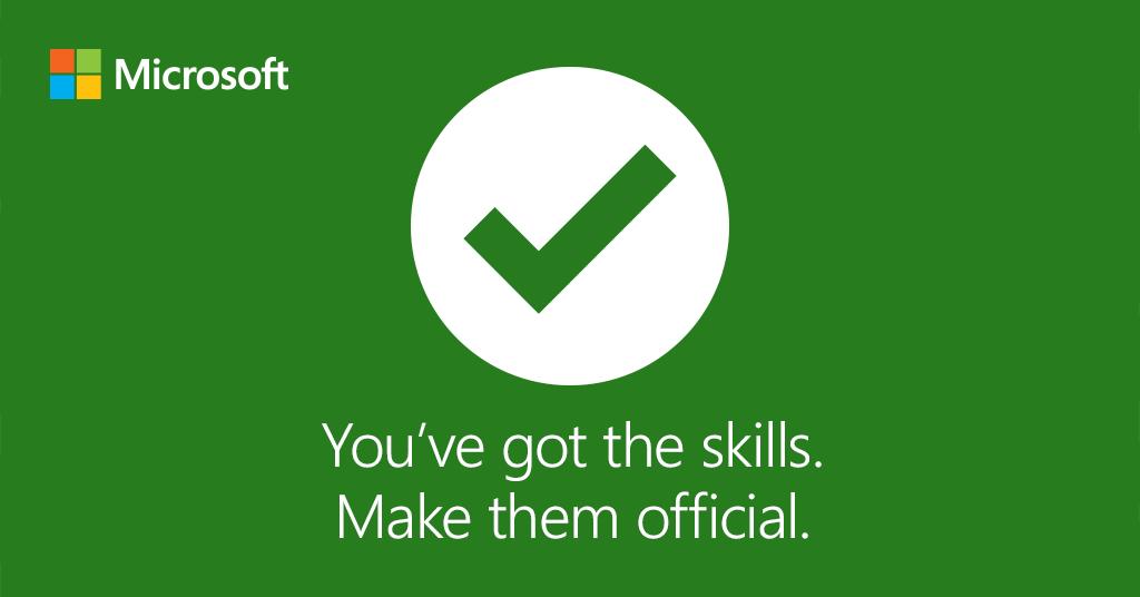 Microsoft Technet Uk On Twitter Jump Start Your Career And Verify