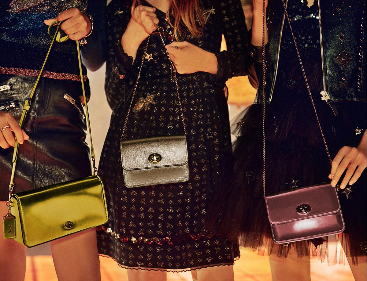 Good things come in threes. #BringOnTheJoy #CoachNY https://t.co/6KOSNou5na
