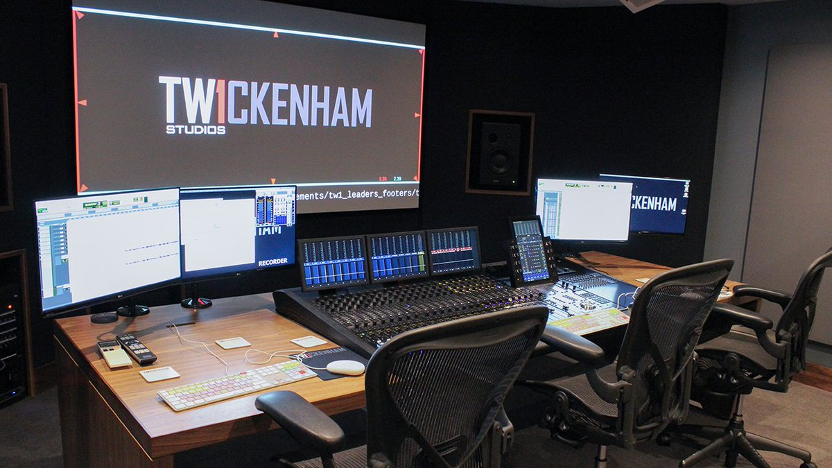 Avid Pro Tools On Twitter At The Heart Of At Twickstudios Theatre 4