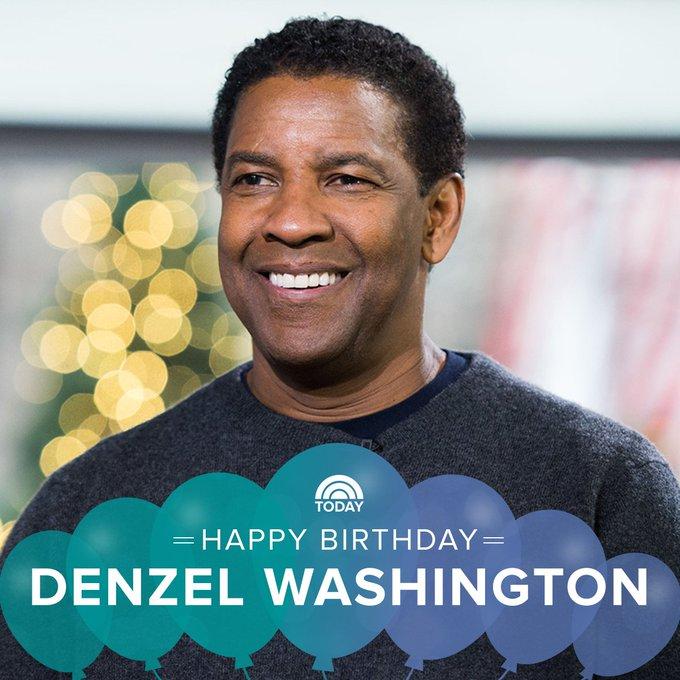 Happy birthday, Denzel Washington!