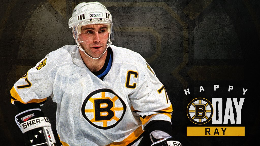 RT @NHLBruins: Happy Birthday, @RayBourque77! 🎂 https://t.co/Csm5qKI0Xz